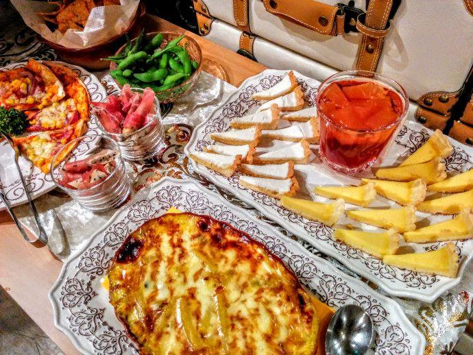 大宮パーティー過去開催店舗料理